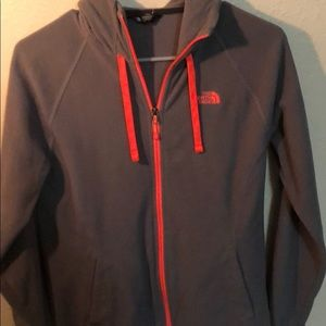 North face Zip up sweater
